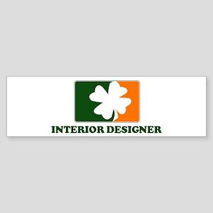 Irish INTERIOR DESIGNER Bumper Sticker