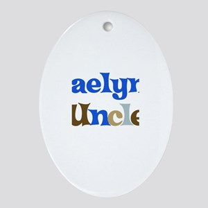 Kaelyn's Uncle Oval Ornament
