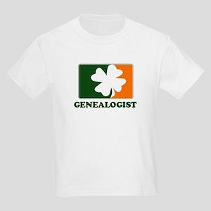 Irish GENEALOGIST Kids Light T-Shirt