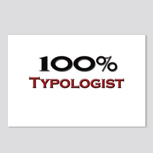 100 Percent Typologist Postcards (Package of 8)