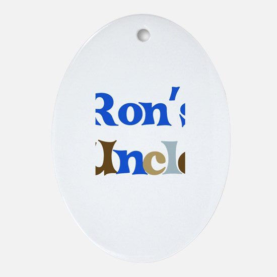 Ron's Uncle Oval Ornament