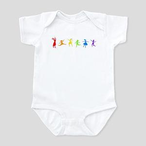 Dancing Women Infant Creeper