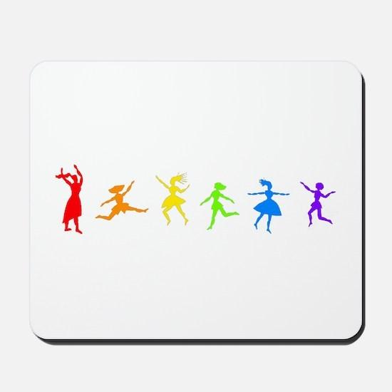 Dancing Women Mousepad