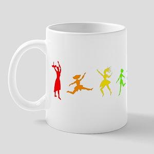 Dancing Women Mug