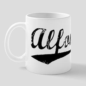 Vintage Alfonso (Black) Mug