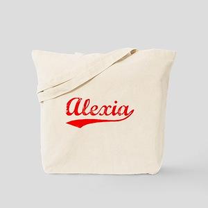 Vintage Alexia (Red) Tote Bag