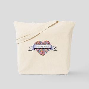 Love My Mailman Tote Bag