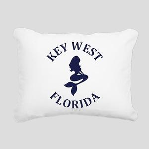 Summer key west- florida Rectangular Canvas Pillow