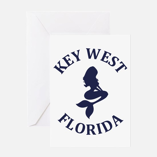 Summer key west- florida Greeting Cards