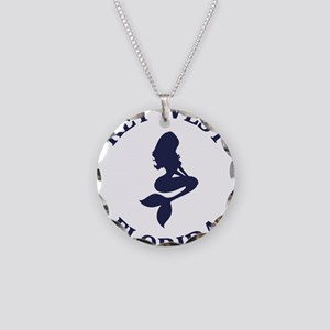 Summer key west- florida Necklace Circle Charm