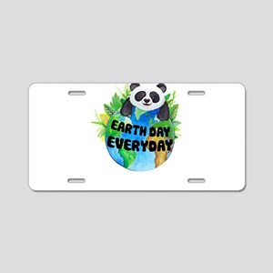 Earth Day Every Day Aluminum License Plate