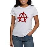 Anarchy Symbol Women's T-Shirt