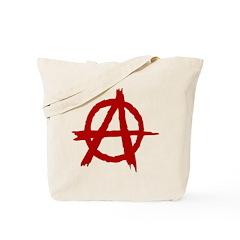 Anarchy Symbol Tote Bag