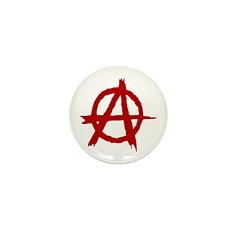 Anarchy Symbol Mini Button (10 pack)