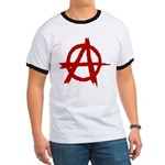 Anarchy Symbol Ringer T