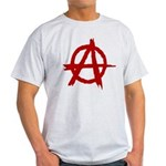 Anarchy Symbol Light T-Shirt