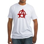 Anarchy Symbol Fitted T-Shirt