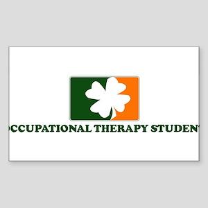 Irish OCCUPATIONAL THERAPY ST Sticker (Rectangular