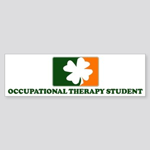 Irish OCCUPATIONAL THERAPY ST Bumper Sticker