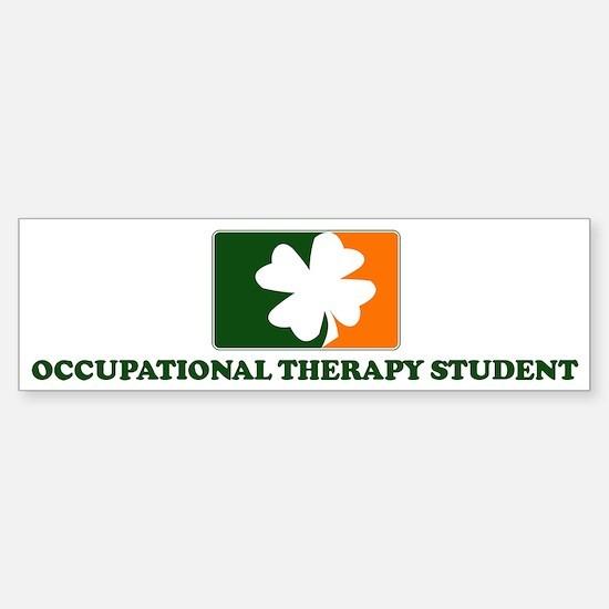 Irish OCCUPATIONAL THERAPY ST Bumper Bumper Bumper Sticker