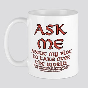 Take Over the World Joke Mug