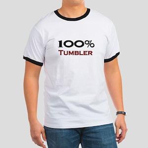 100 Percent Tumbler Ringer T