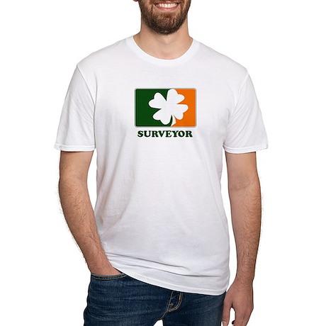 Irish SURVEYOR Fitted T-Shirt