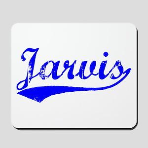 Vintage Jarvis (Blue) Mousepad
