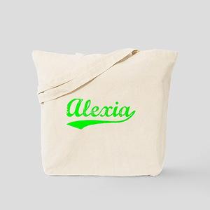 Vintage Alexia (Green) Tote Bag