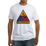 2ND ARMORED DIVISION Fitted T-Shirt