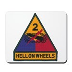 2ND ARMORED DIVISION Mousepad
