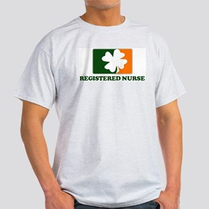 Irish REGISTERED NURSE Light T-Shirt
