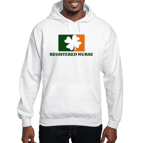 Irish REGISTERED NURSE Hooded Sweatshirt