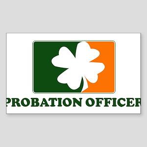 Irish PROBATION OFFICER Rectangle Sticker