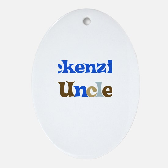 Mckenzie's Uncle Oval Ornament