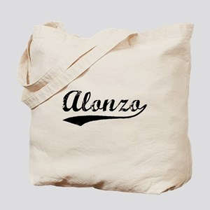 Vintage Alonzo (Black) Tote Bag