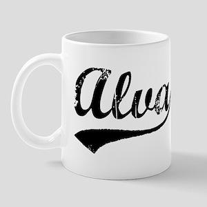 Vintage Alva (Black) Mug