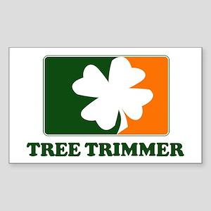 Irish TREE TRIMMER Rectangle Sticker