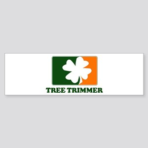 Irish TREE TRIMMER Bumper Sticker