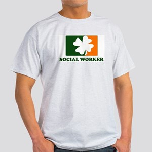 Irish SOCIAL WORKER Light T-Shirt