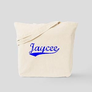 Vintage Jaycee (Blue) Tote Bag