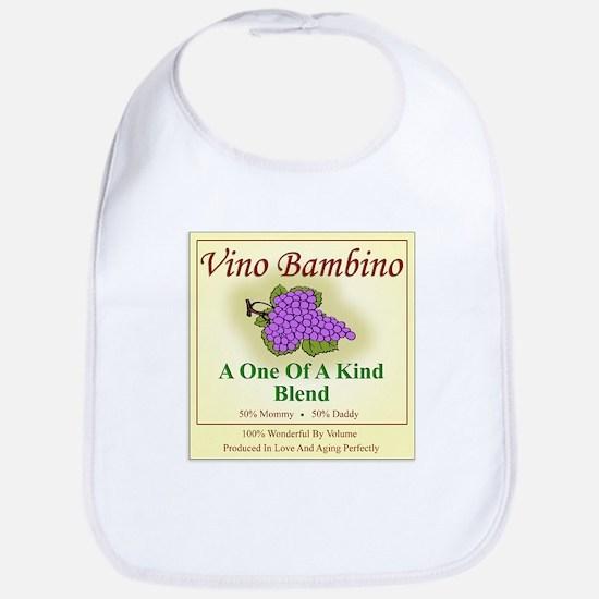 Vino Bambino Wine Label - Bib