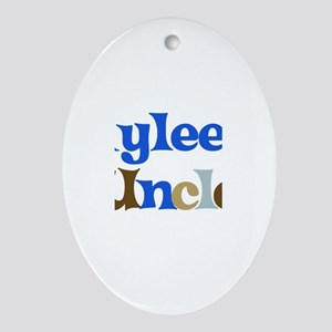 Rylee's Uncle Oval Ornament
