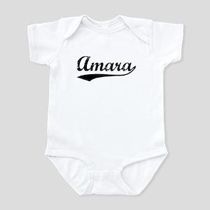 Vintage Amara (Black) Infant Bodysuit