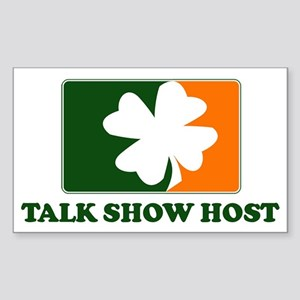 Irish TALK SHOW HOST Rectangle Sticker