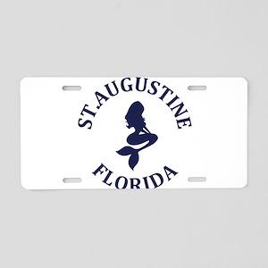 Summer st. augustine- flori Aluminum License Plate
