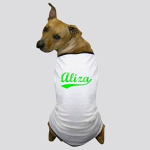 Vintage Aliza (Green) Dog T-Shirt