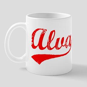 Vintage Alva (Red) Mug