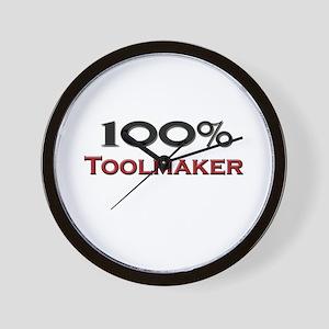 100 Percent Toolmaker Wall Clock