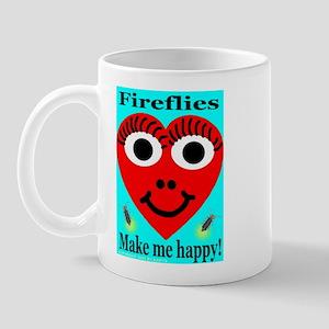 Fireflies make me happy Mug